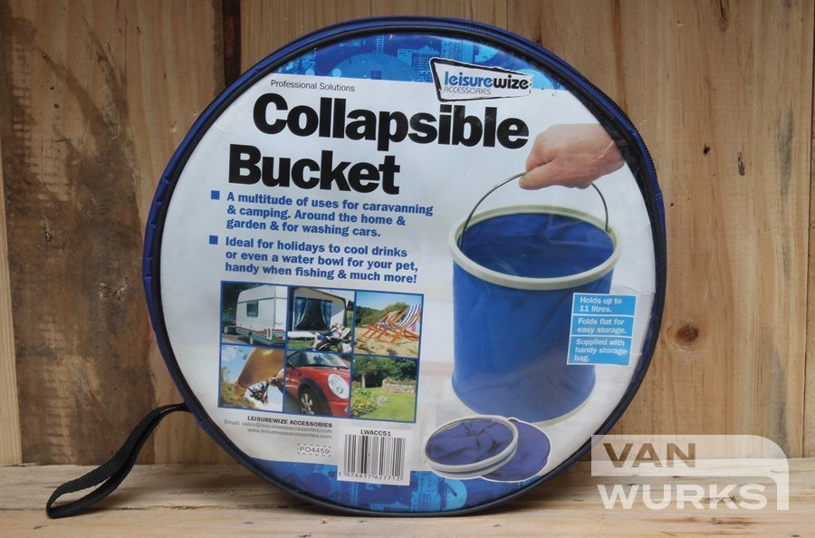 11L Collapsible Camping Bucket Vanwurks
