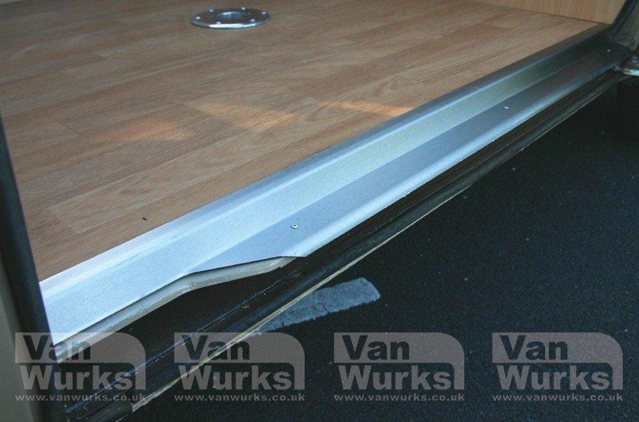 Stainless Steel Sliding Door Trim For VW T25, Low Floor