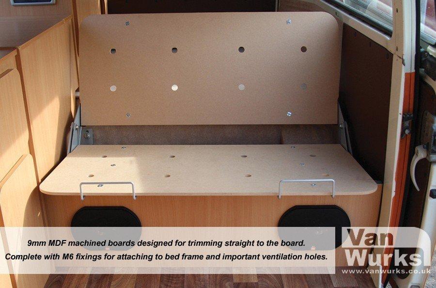 9mm Easy Trim Mdf Bed Boards Vanwurks Vw Camper Interiors