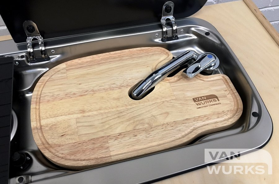 Dometic / Smev 9222 Chopping Board Sink on Right