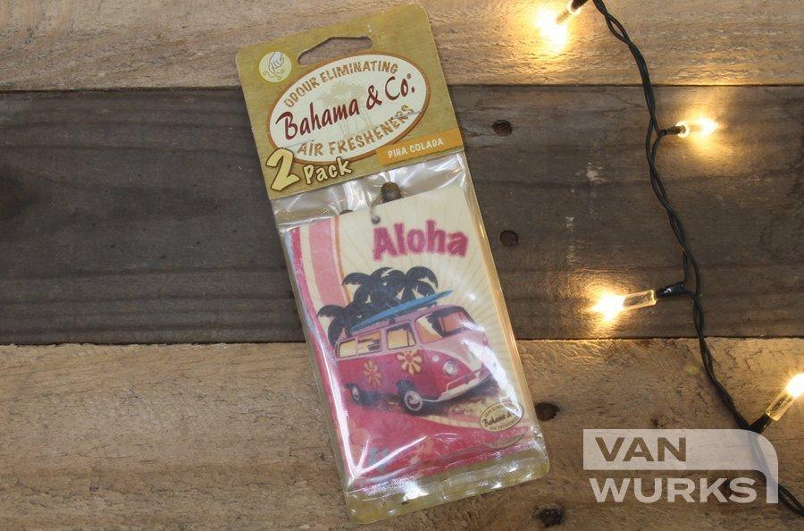 Bahama camper pina colada air freshener
