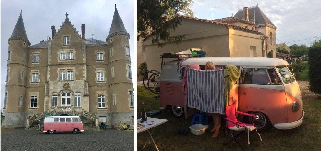 Beanieblossom at the Chateaux de la Motte