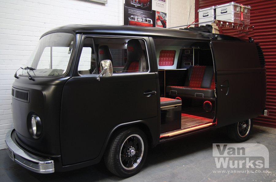 Black Tin top VW