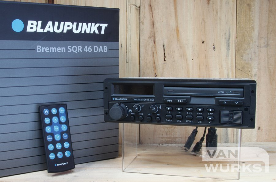 Blaupunkt Bremen SQR 46 DAB Retro 1980's Single DIN Head Unit
