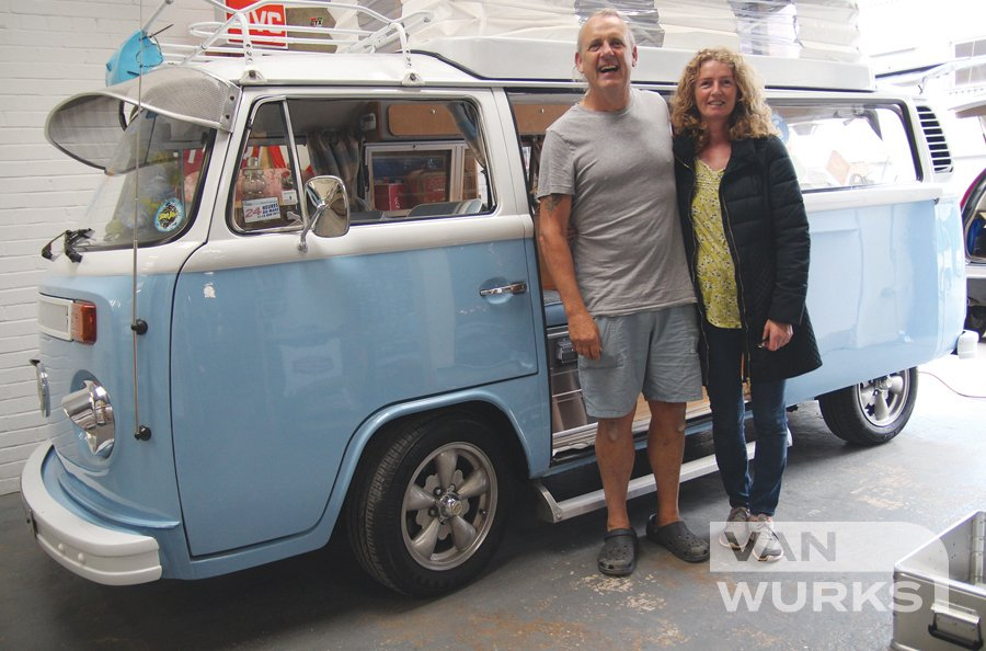 customers with Blue Devon T2
