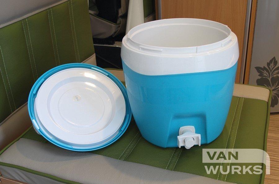 Camper van Water Cooler 3L Blue with tap 02