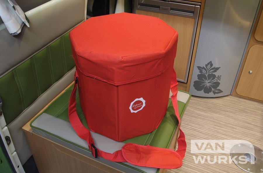 Collapsible 3 in 1 cooler camping seat 02