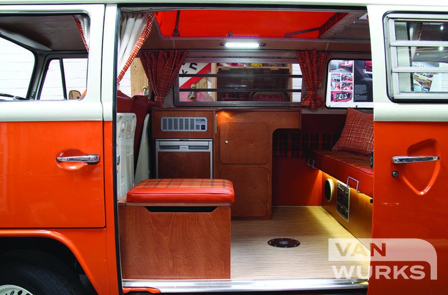 Deluxe Kompact For Volkswagen T2 Bay Window Vanwurks Vw