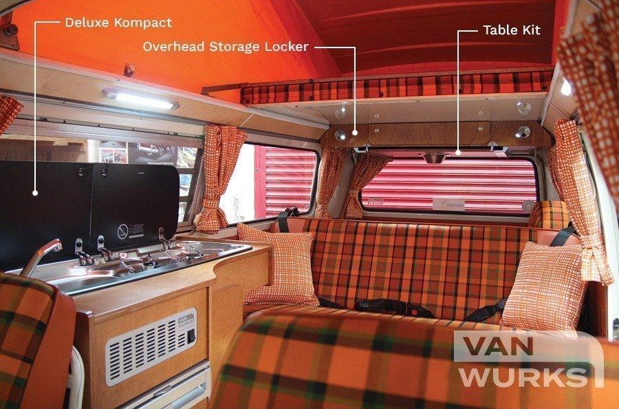 Deluxe Kompact For Volkswagen T25 Vanwurks Vw Camper