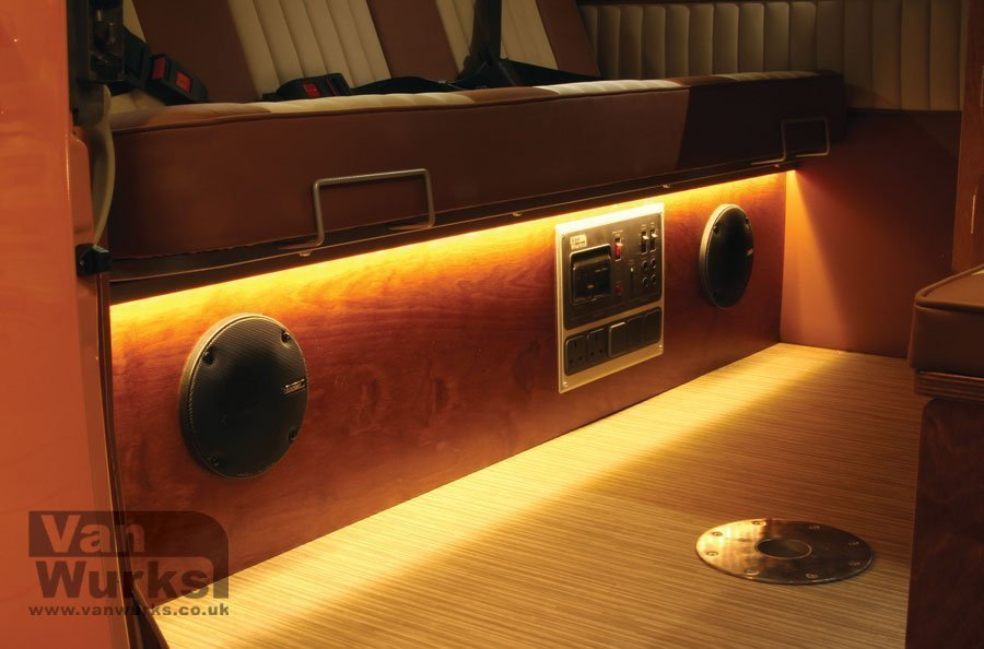 Led Kickpanel Lighting Strip For The Rock And Roll Bed