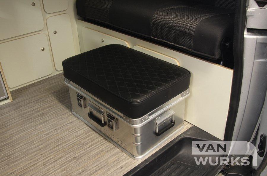 zarges box in campervan