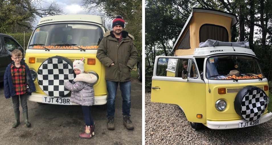 Pete Marshalls VW T2 Late Westy