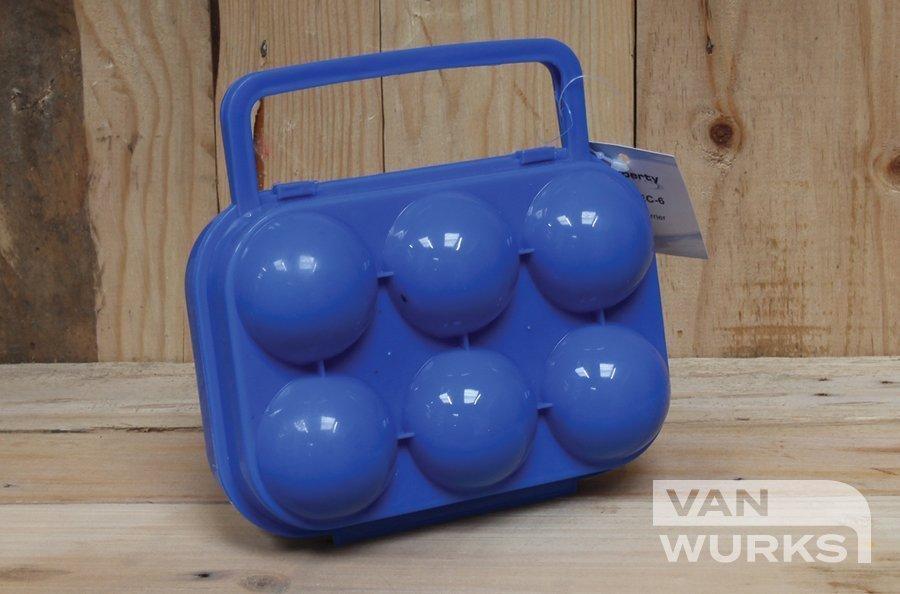 Plastic Egg carrier for camper vanwurks