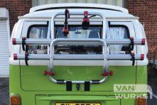 Fiamma T2 carry bike rear view