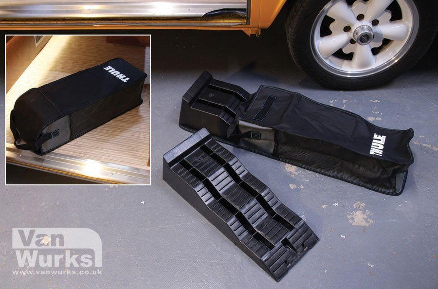 Thule levelling ramps for camper motorhome