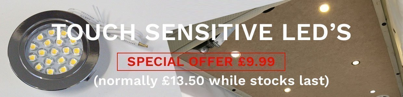 Touch Sensitive Slider 1240 x 300