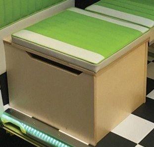 Buddy Seats Boxes / Toilet Boxes / Folding Seats