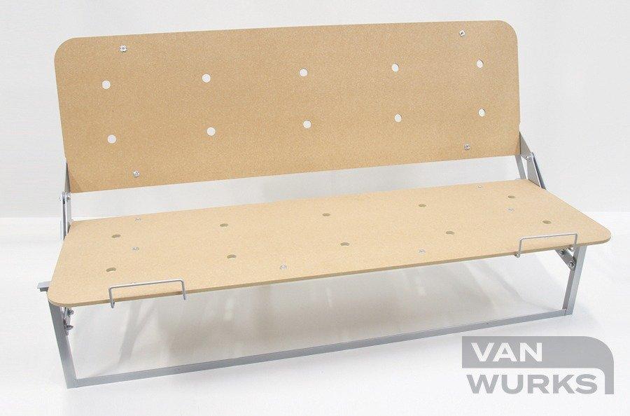 Full Width Rock And Roll Bed Frame Vanwurks Vw Camper