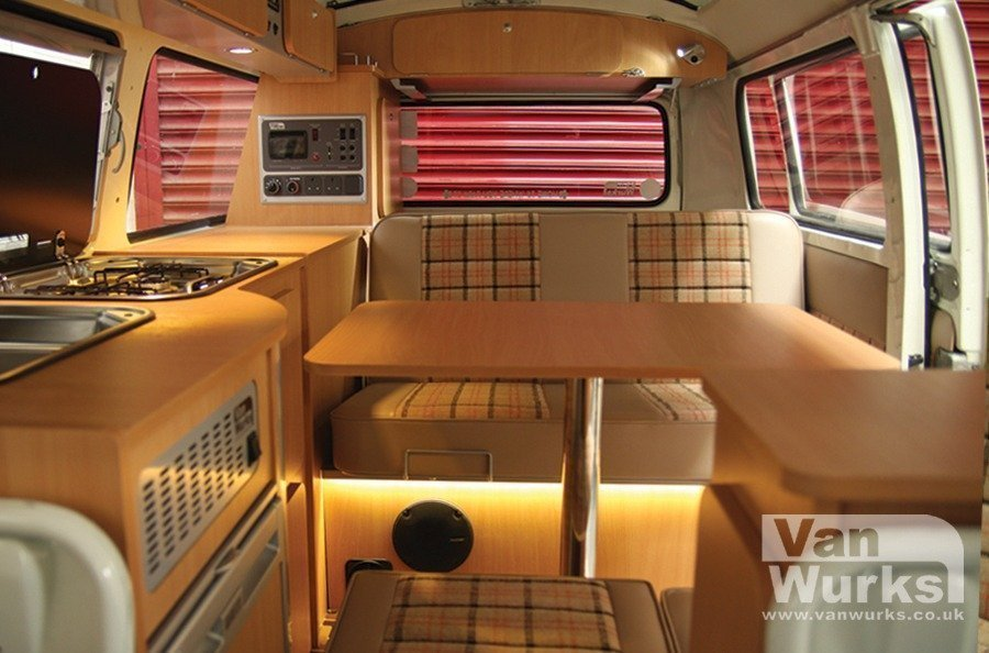 Vw T2 Camper >> 1979 Devon Bay with Deluxe Classic Interior in Beech ...